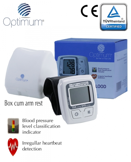 Optimum Wrist Automatic Blood Pressure Machine