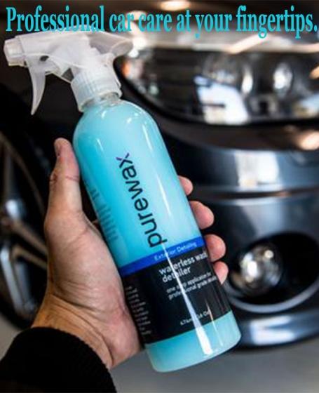 PureWax <b>Waterless Wash</b> 2pcs Combo (474ml) (Free 1Pack Micro Fibre Cloth)