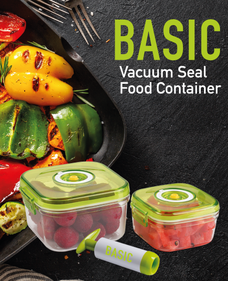 Basic Vacuum Seal Food Container