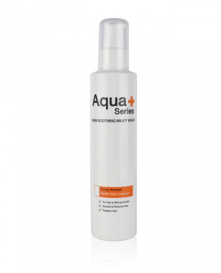 Aqua+ Skin Soothing Milky Wash (175ml)