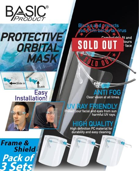Basic Protective Orbital Mask (1pack @ 3pcs)