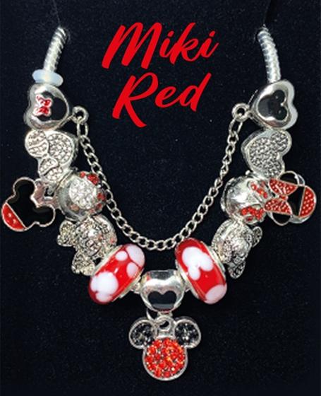 Senses Govean Enchanted Bracelet <b>Miki Red</b>