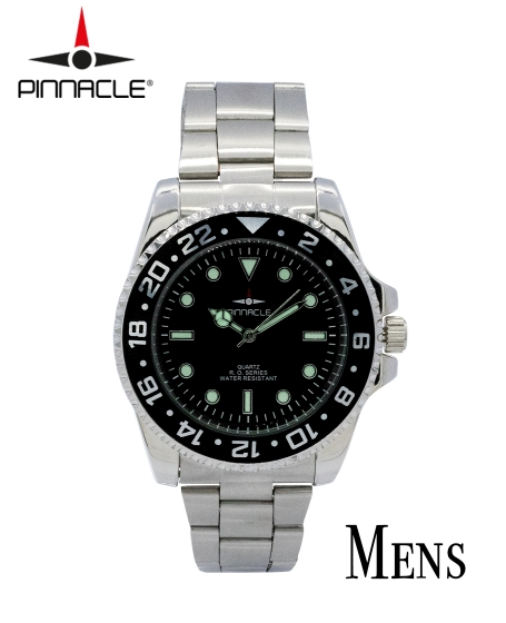 Basic Pinnacle RO Series Watch Black <b>Men</b>