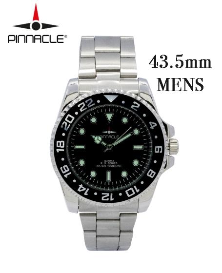 Pinnacle <br/>RO Series Watch <b>Men </b><br/><b>Black 43.5mm</b>