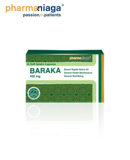Baraka 450mg 24's