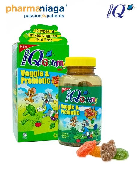 One Q <br/>Gummy <br/><b>Veggie & Prebiotic</b>