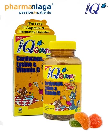 One Q <br/>Gummy <br/><b>Cordyceps, Lysine & Vitamin C</b>