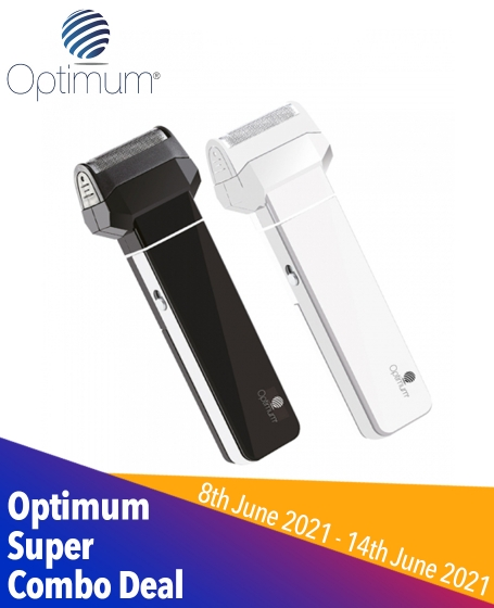 Optimum Super Combo Deal  (1pc-<b>3 in 1 Shaver</b>+1pc-<b>Interchangeable Polarized 5 in 1 Sunglasses</b>+1pc-<b>Basic Collapsible Straw</b>)